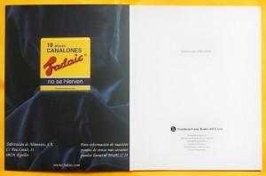 Imagen anuncio en el libreto del Gran Teatre del Liceu